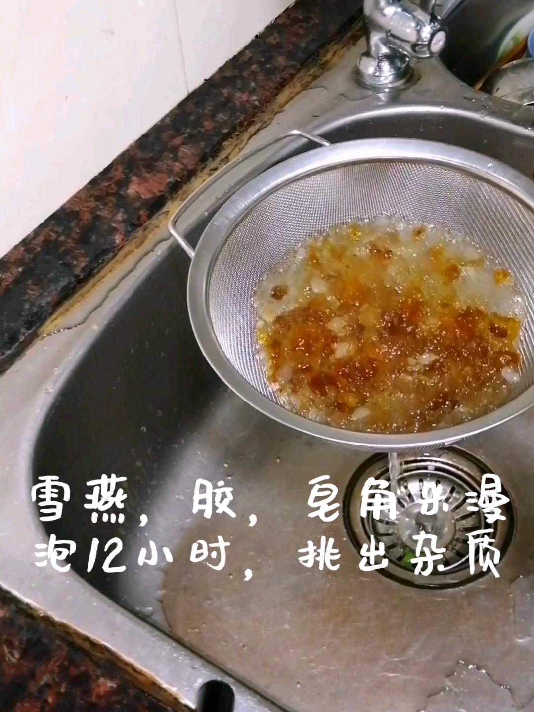 雪燕桃胶糖水的做法大全