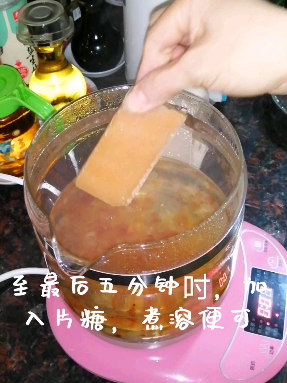 雪燕桃胶糖水怎么吃