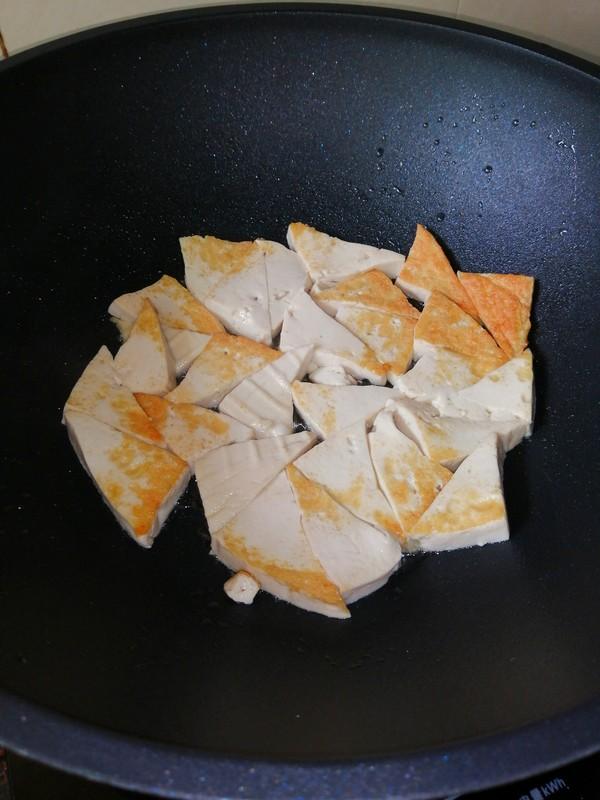 豆腐的神仙做法~~素炒豆腐角怎么吃