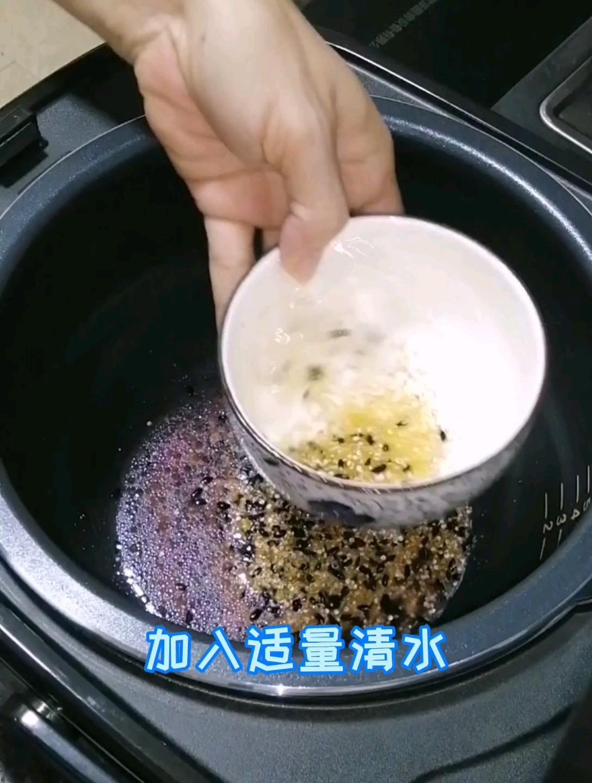 黑米粥怎么做