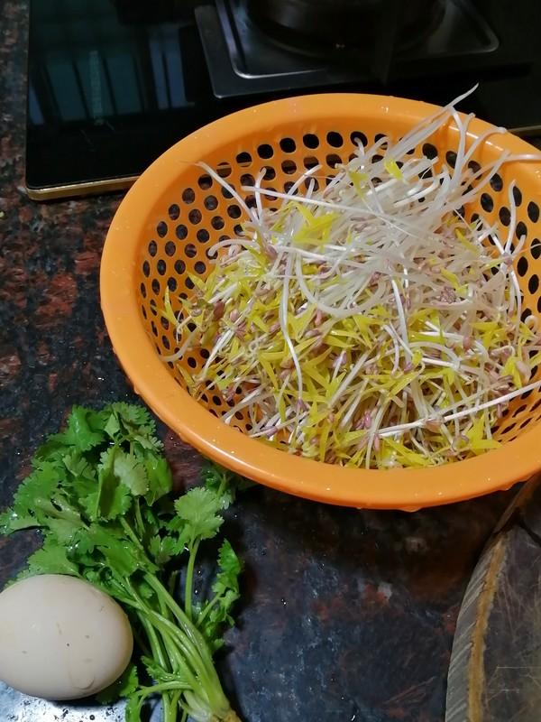 绿豆芽炒紫米饭的做法大全