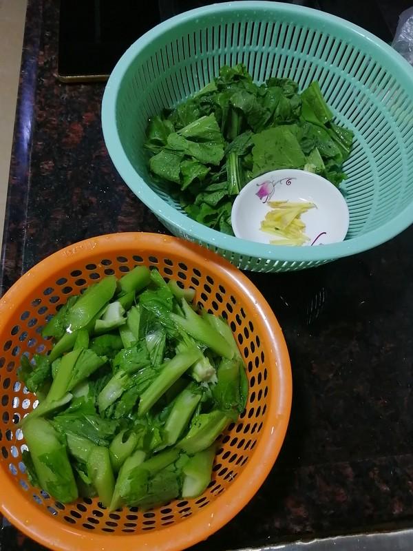 剩菜变美味~~芥菜焖青头鸭的做法图解
