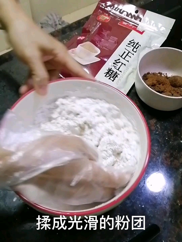 红糖糍粑的简单做法