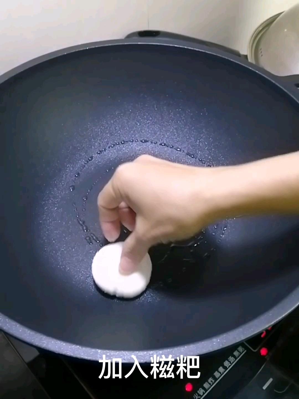 红糖糍粑怎么炒