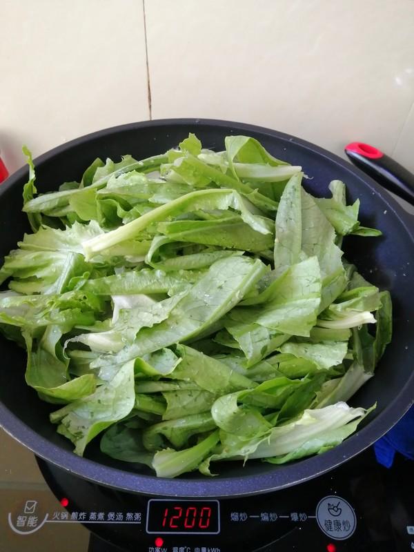 简简单单也不失美味~~清炒油麦菜的家常做法