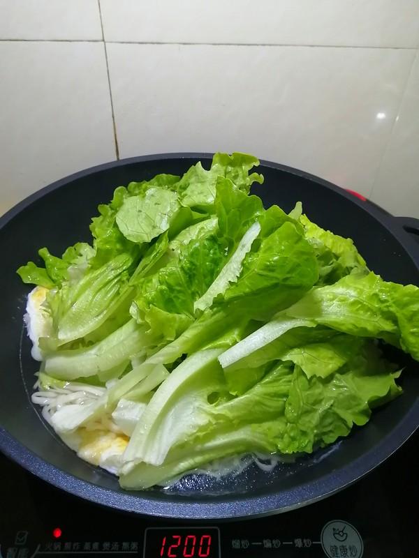 简简单单也不失美味~~鸡蛋生菜面条怎样煸