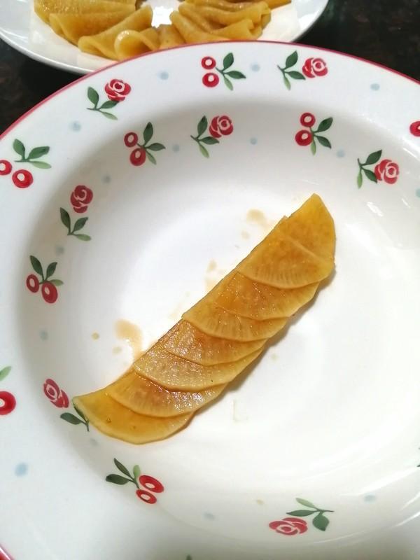 简简单单也不失美味~~糖醋白萝卜的制作方法