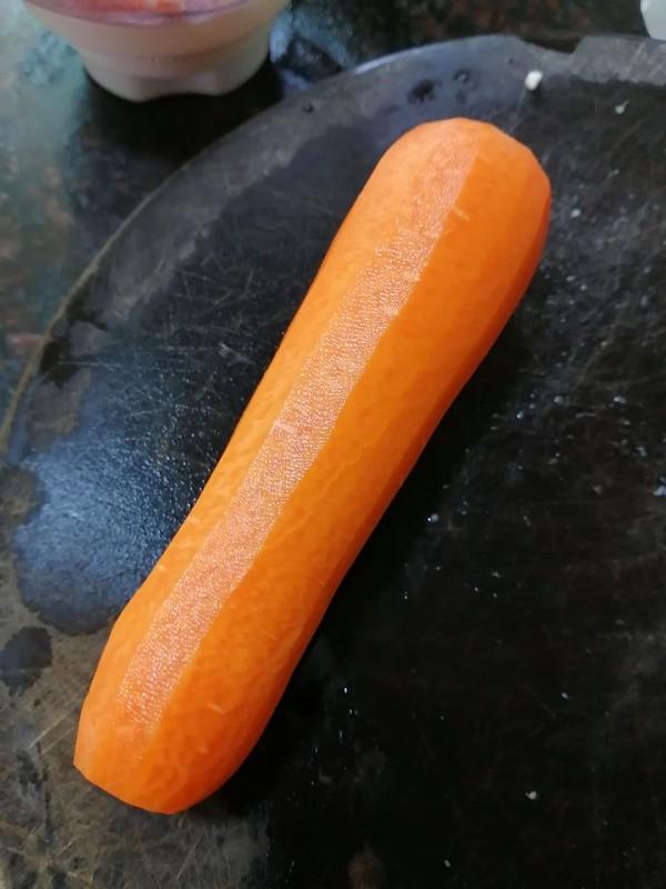 百吃不厌的点心~~包胡萝卜饺子的简单做法