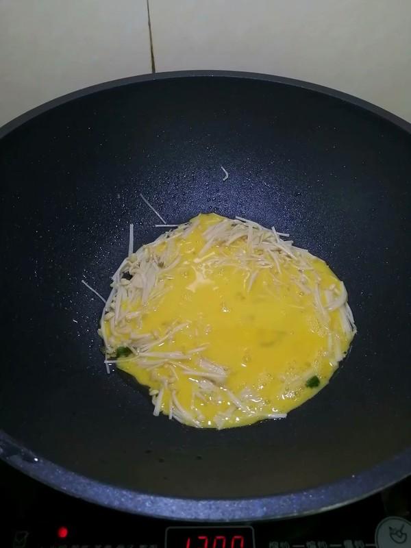 简简单单也不失美味~~金针菇炒鸡蛋怎样做