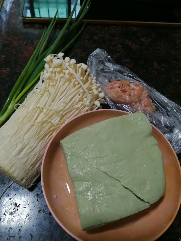 简简单单也不失美味~~金针菇豆腐煲的做法大全