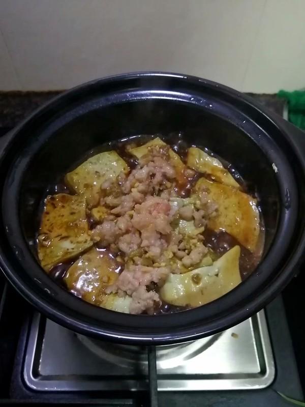 简简单单也不失美味~~金针菇豆腐煲怎样炒