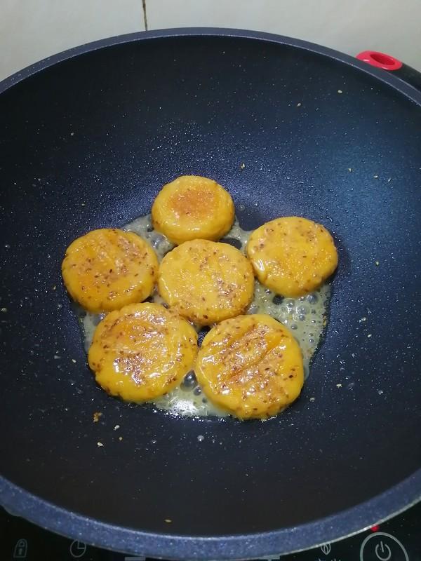 红薯饼的制作