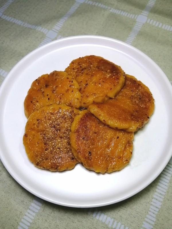 红薯饼成品图