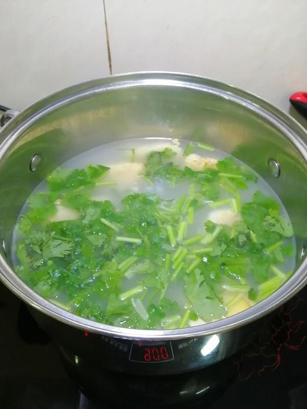 鱼胶豆腐汤的步骤