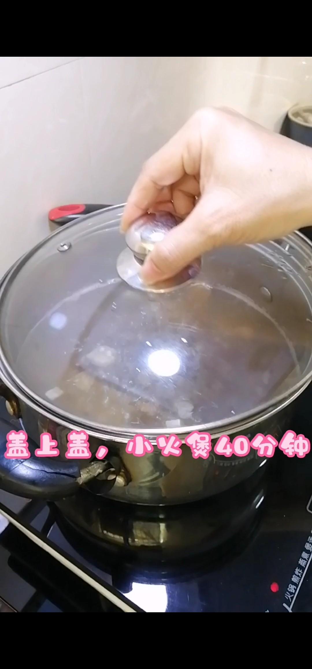 节补猪骨汤的步骤