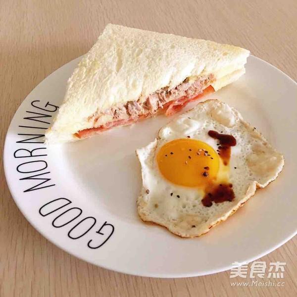 懒人金枪鱼三明治怎么做