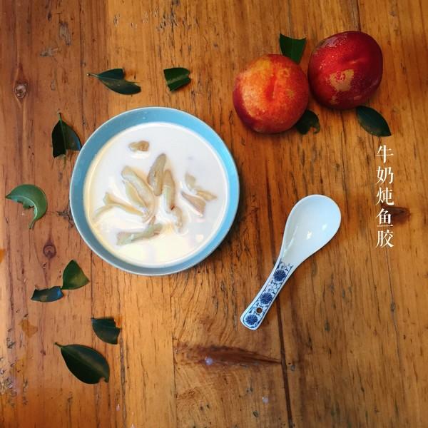 牛奶炖鱼胶(可冷可热)成品图