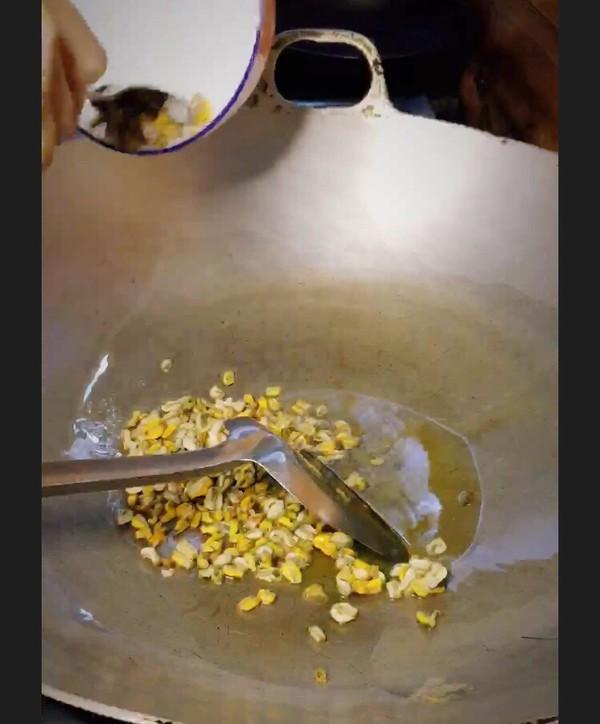 海瓜子胚芽炒饭的家常做法