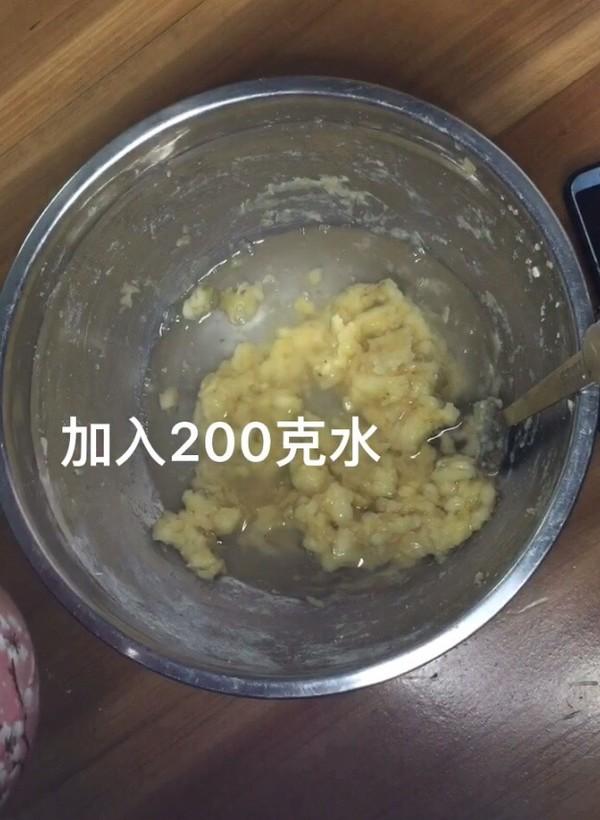 快手早餐系列~~香蕉软饼的做法图解