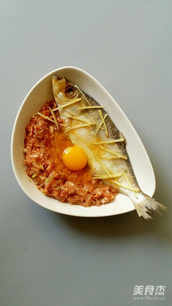 三抱鳓鱼蒸肉饼蛋的家常做法