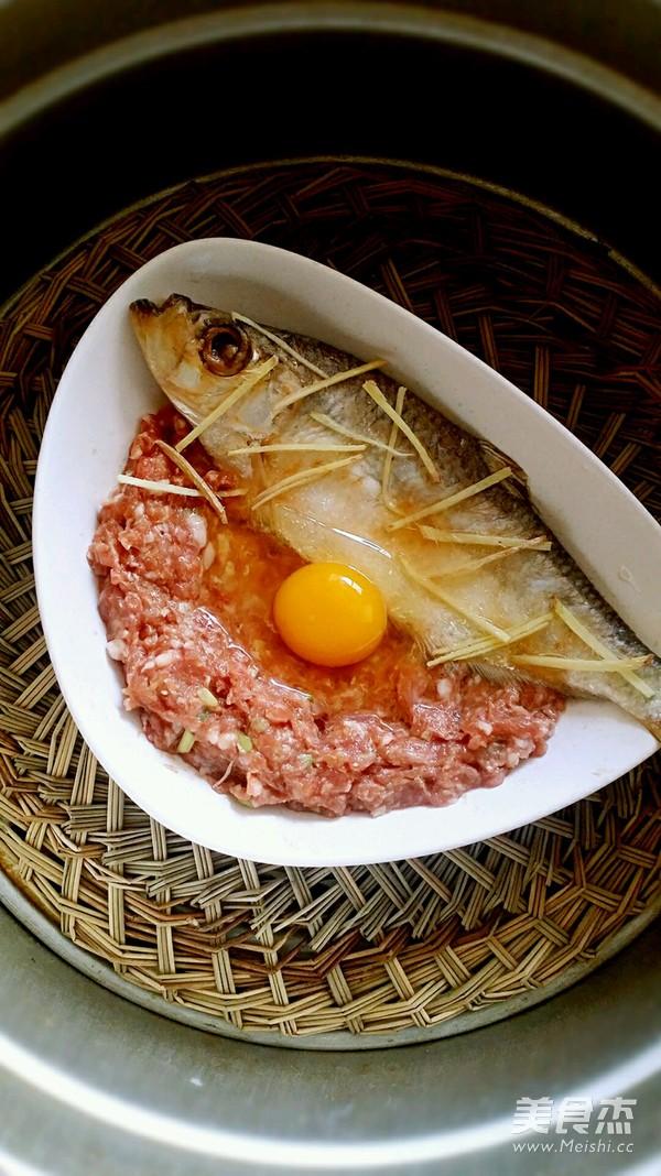 三抱鳓鱼蒸肉饼蛋的简单做法