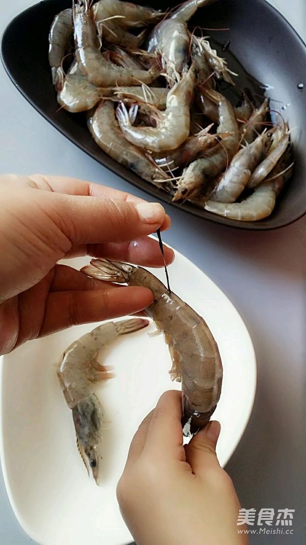 金银蒜蒸粉丝虾的做法大全