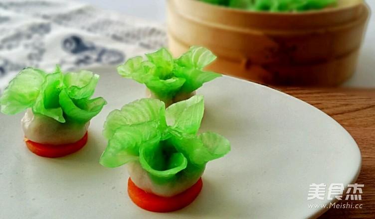 翡翠白菜饺怎么炖
