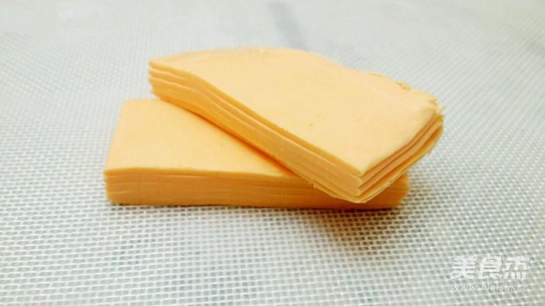 燕麦切达火腿包的家常做法
