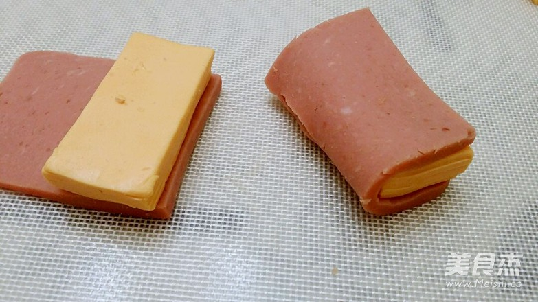 燕麦切达火腿包的简单做法