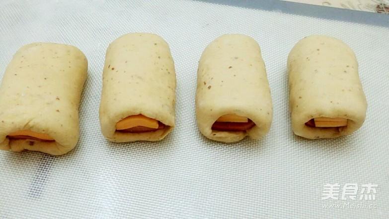 燕麦切达火腿包怎么炒