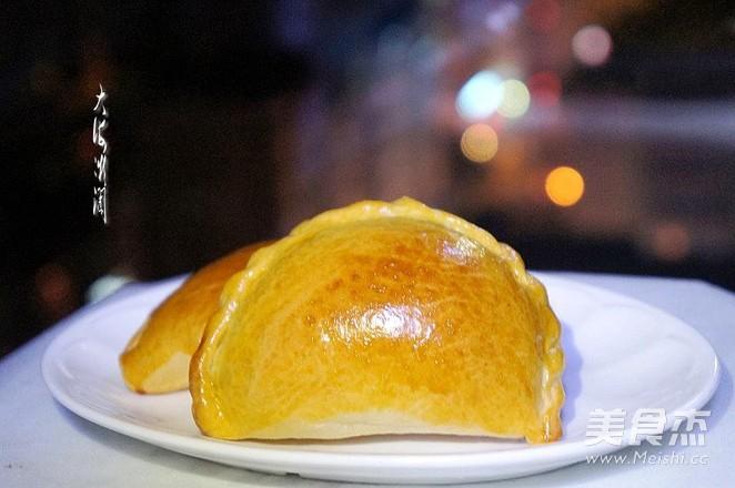 饺子面包成品图