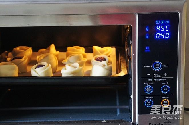 紫薯花生仁馅面包怎么炒