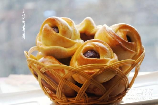 紫薯花生仁馅面包怎么炖