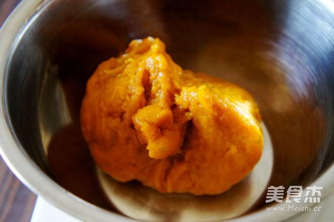 香煎绿豆沙馅南瓜饼的做法图解
