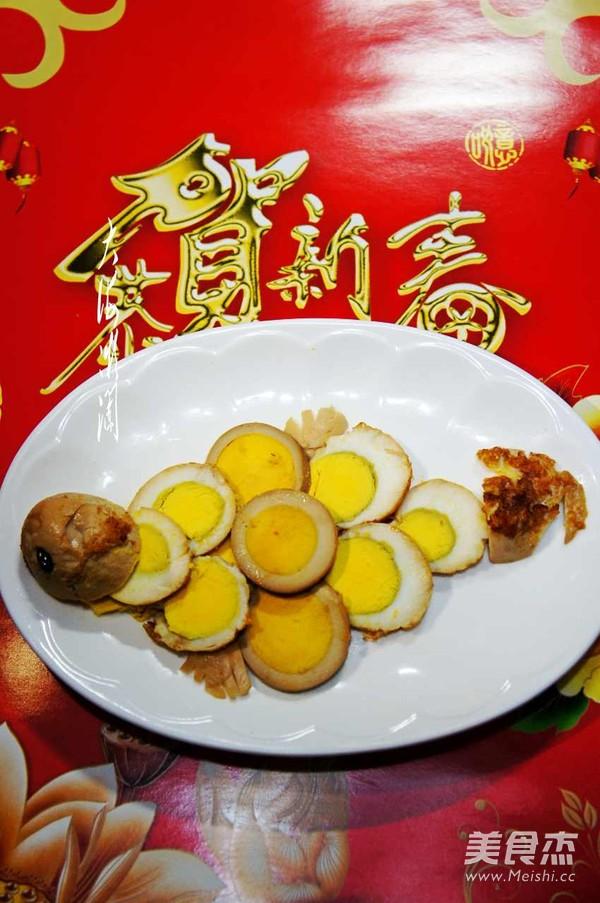 卤鸡蛋成品图
