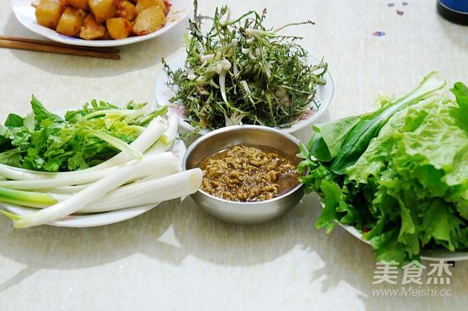 蒲公英蘸酱菜怎么炒