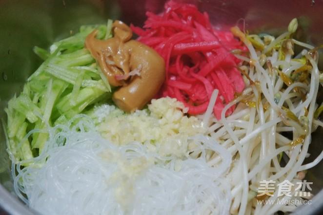 凉拌豆芽菜怎么做