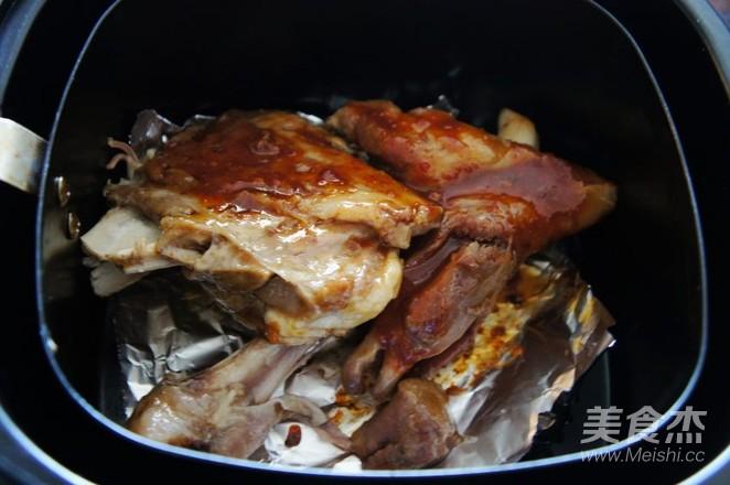 空气炸锅版烤羊腿怎么炒