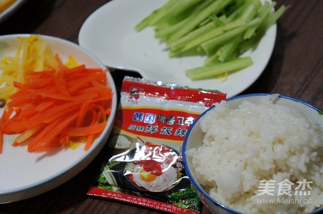 韩式石锅拌饭怎么做