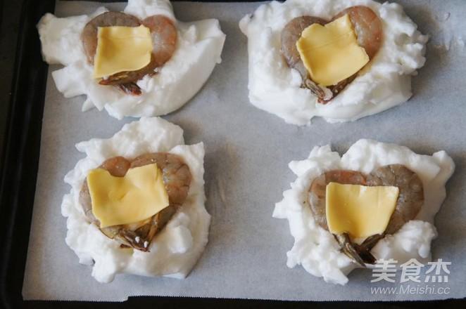 云朵鸡蛋焗虾仁怎么煮