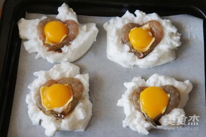云朵鸡蛋焗虾仁怎么炖