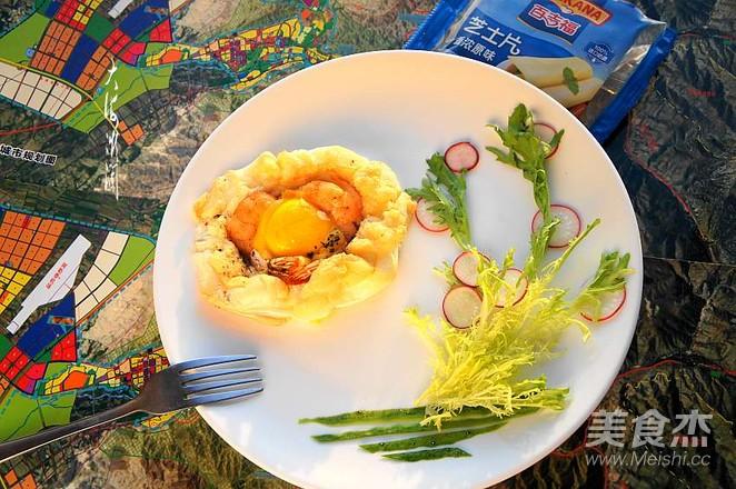 云朵鸡蛋焗虾仁怎样做
