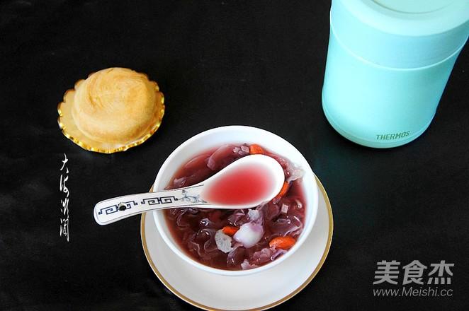 紫薯百合银耳甜汤怎么做