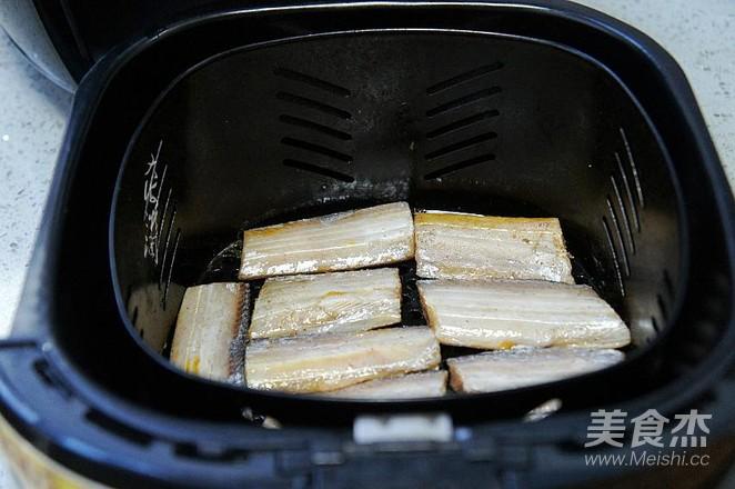 空气炸锅版炸带鱼怎么吃