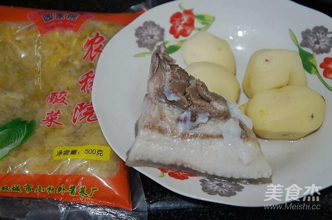 酸菜猪肉炖土豆的做法大全