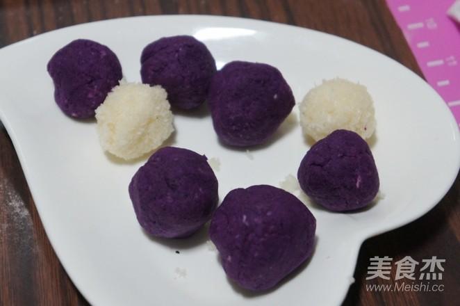 南瓜紫薯早餐包怎么吃