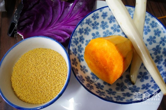 瓜蔬小米嚯嚯粥的做法大全