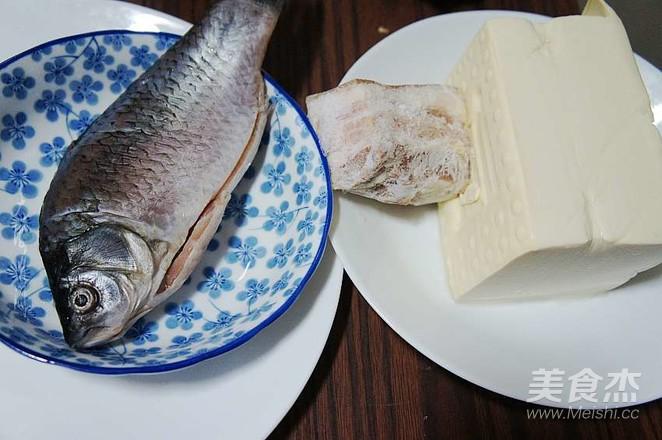 鲫鱼炖豆腐的做法大全
