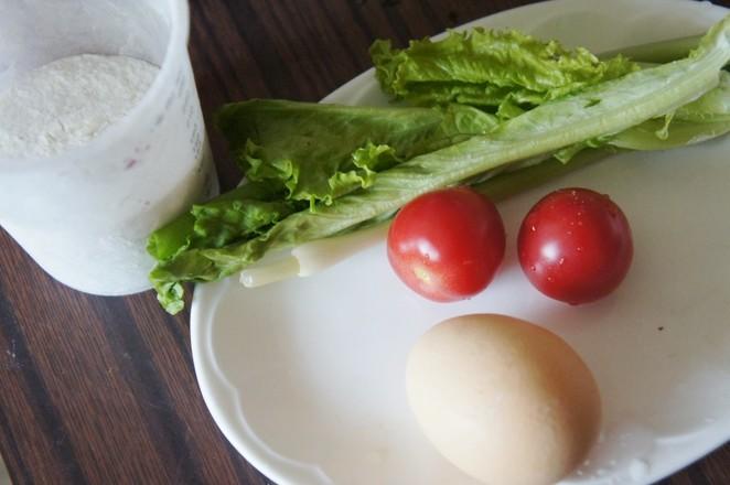 生菜番茄鸡蛋饼的做法大全