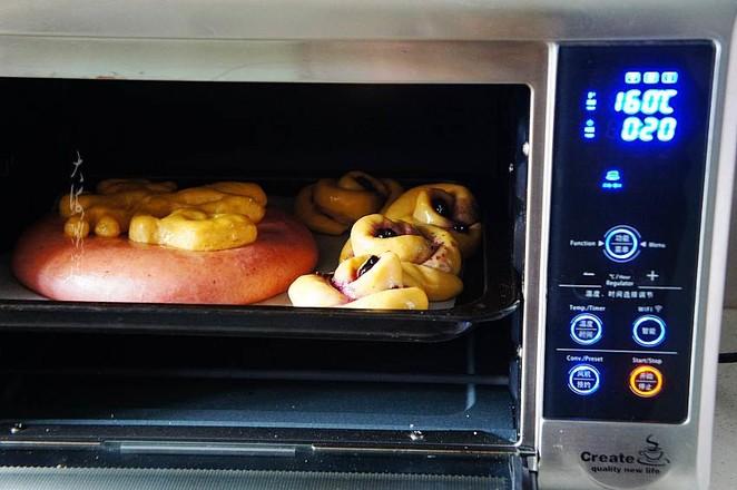 蓝莓果酱面包怎么做
